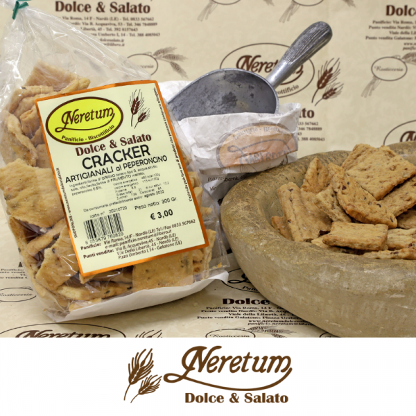 crackers peperoncino